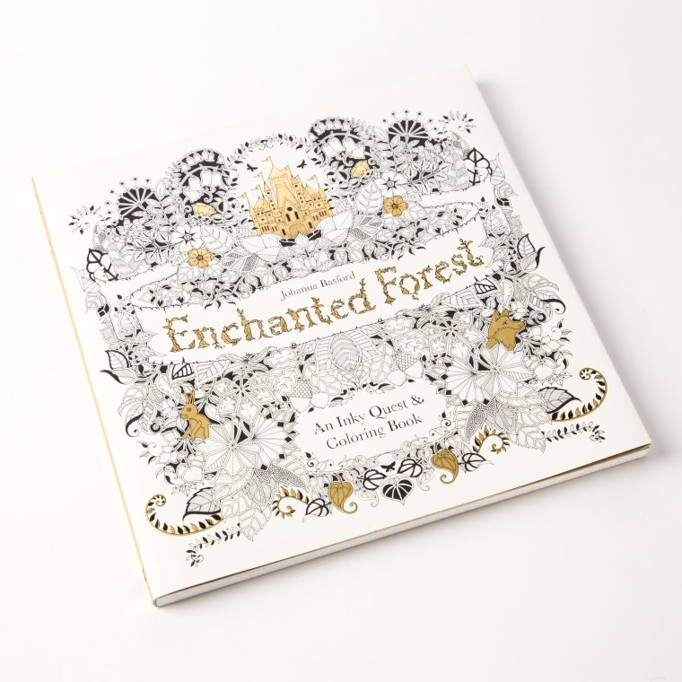 Enchanted Forest Papyrus coloring book