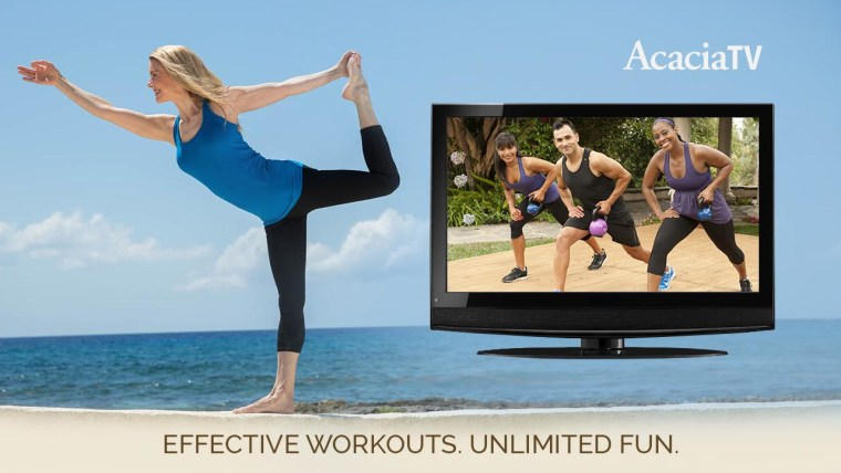 Acacia on-demand workout service