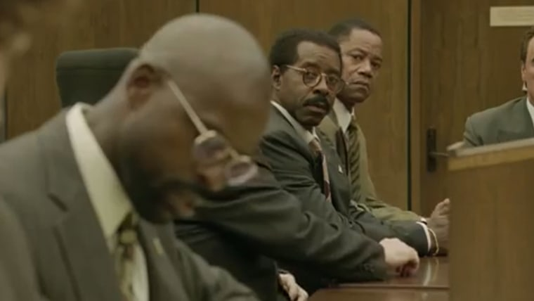"""Cuba Gooding Jr. as O.J. Simpson in """"The People v. O.J. Simpson: American Crime Story"""""""