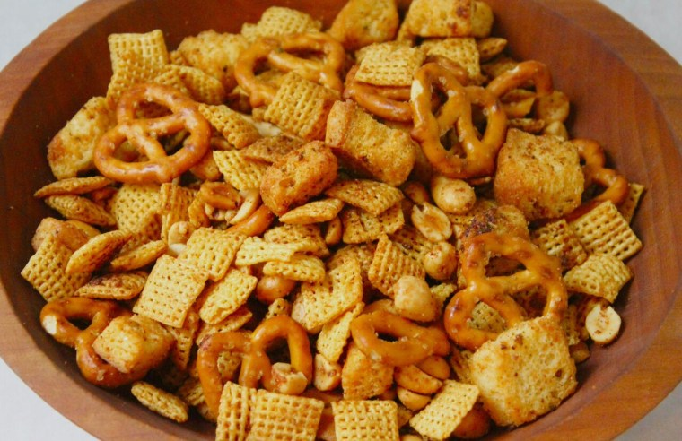 Rosemary-Garlic Chex Mix