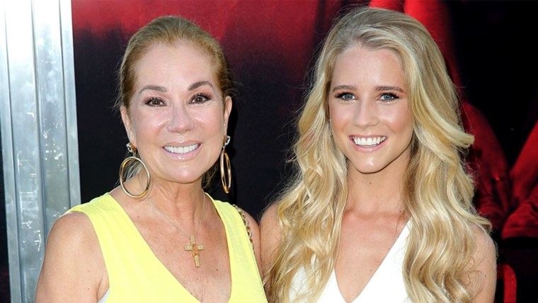 Cassidy Gifford and her mom Kathie Lee