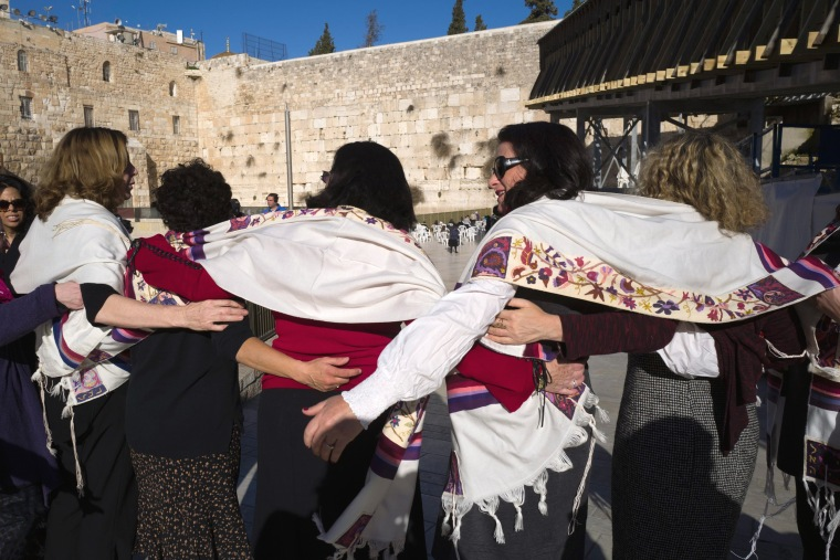 Image: Women of the Wall at Western Wall in Jerusalem