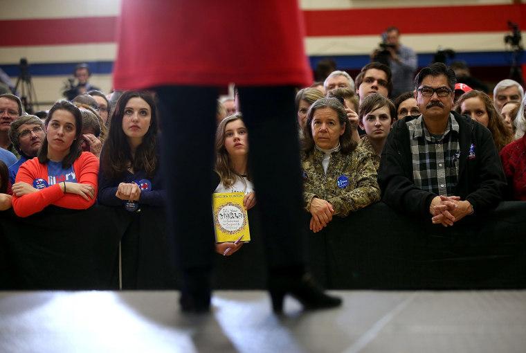 Image:  Hillary Clinton Campaigns Iowa