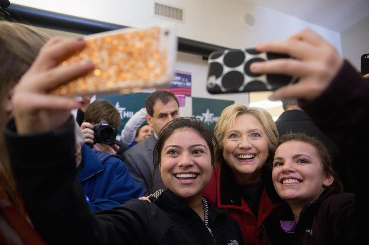 Image: Hillary Clinton Selfie