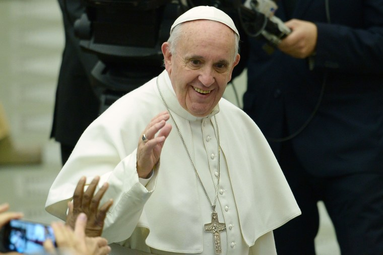 Image: VATICAN-POPE-AUDIENCE