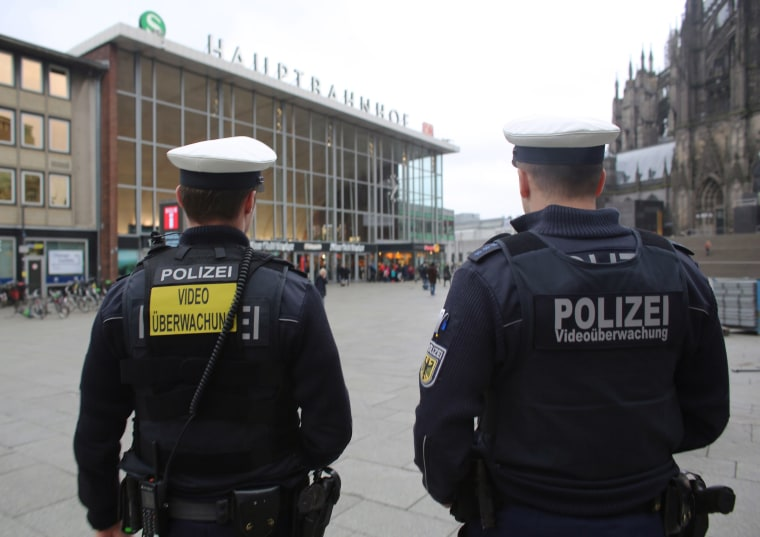 Image: Federal Police in Cologne