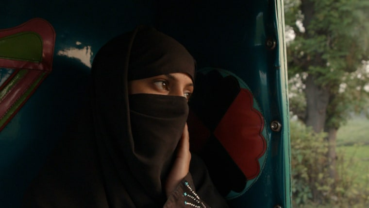 """A still taken from """"A Girl in the River: The Price of Forgiveness,"""" a documentary following a young woman in Pakistan as she recovers from an attack by her father and uncle after eloping with her lover. The film was nominated in the best short subject documentary category in the 2016 Academy Awards."""
