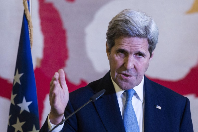 Image: US Secretary of State John Kerry in Rome