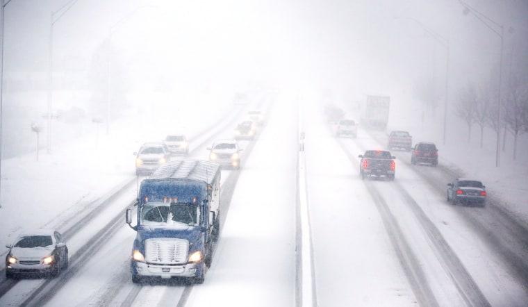 Image: Snowy IA Road