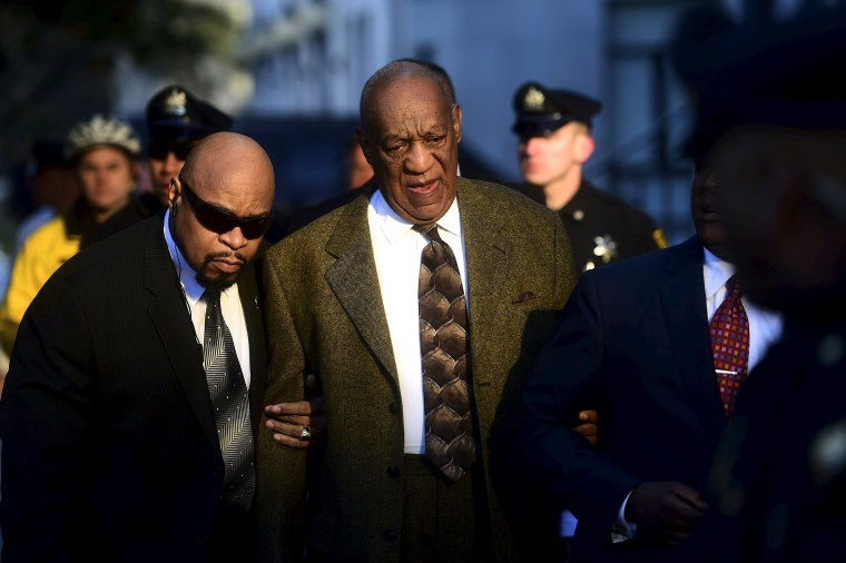 Image: Actor and comedian Bill Cosby arrives for a preliminary hearing on sexual assault charges at the Montgomery County Courthouse in Norristown, Pennsylvania