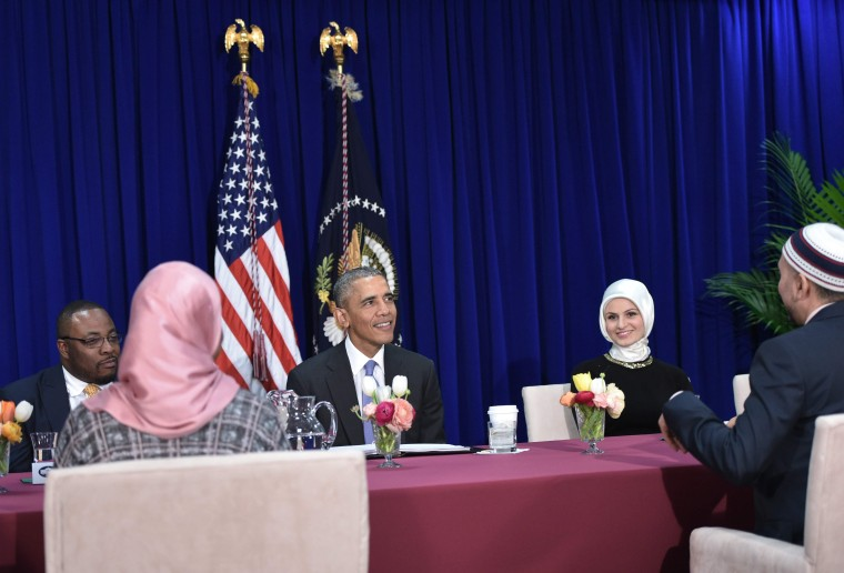 Image: US-POLITICS-ISLAM-OBAMA