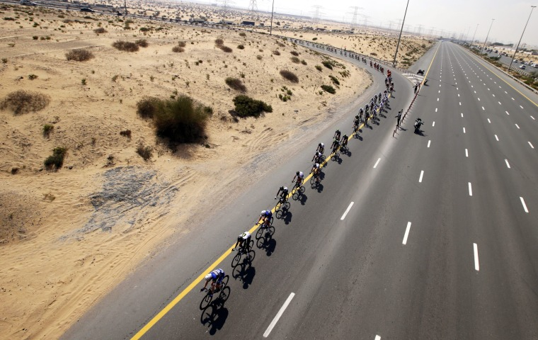 Image: Cycling Dubai Tour 2016 - first stage