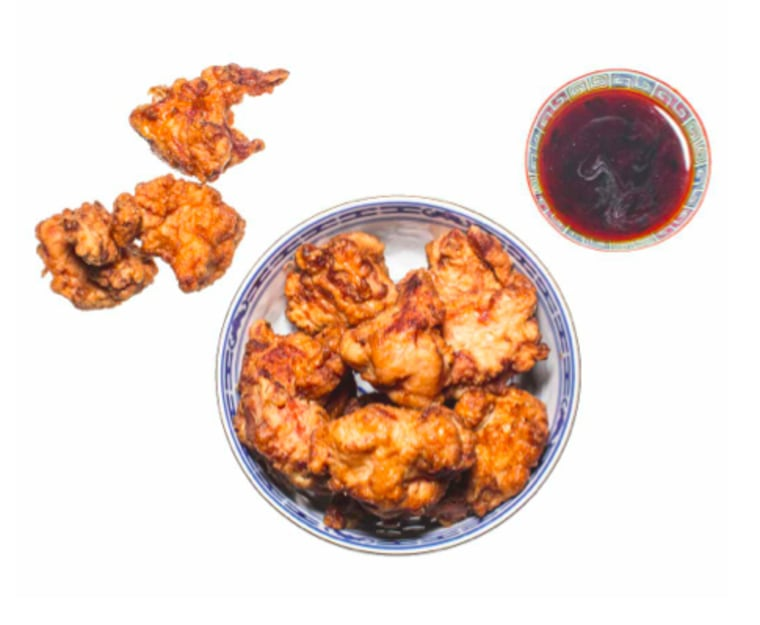 Chef Erik Bruner-Yang says he learned how to make chicken karage from his mother.