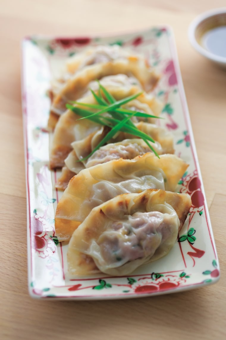 Potstickers are a Lunar New Year staple for chef Katie Chin.