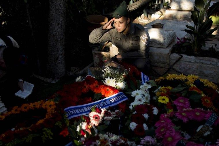 Image: Funeral of Israeli border policewoman