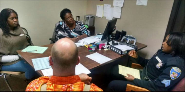 Police and volunteers undergo mediation training