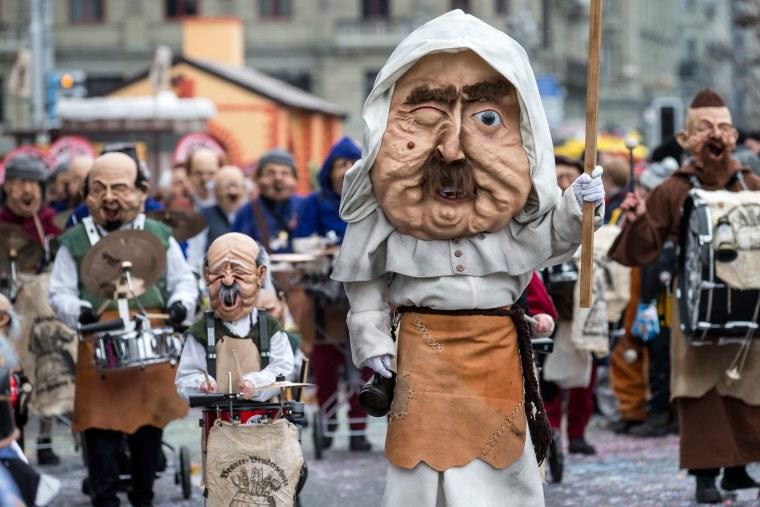 Image: Carnival in Lucerne