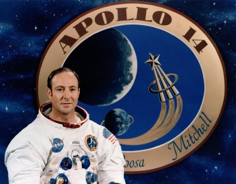 Apollo 14 astronaut Ed Mitchell, December 1970.