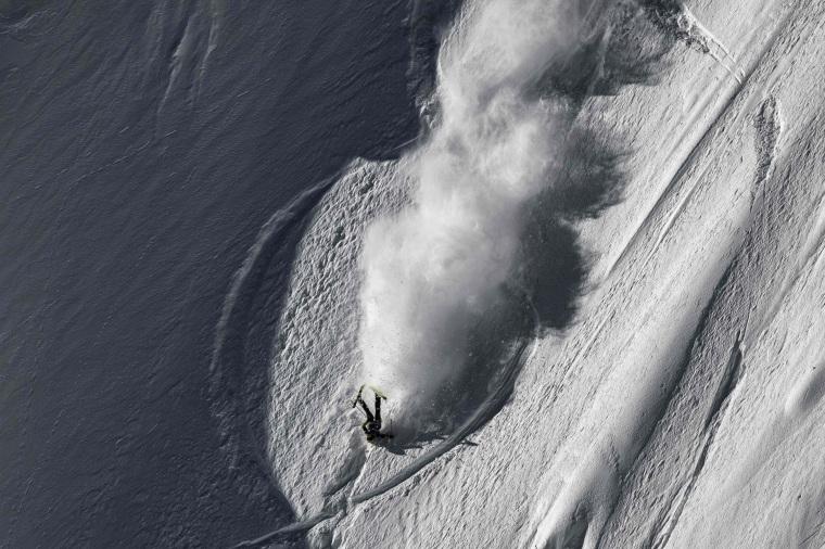 Image:  U.S. skier Martin Lentz