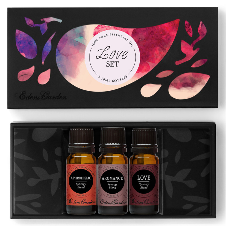Love Set Aphrodisiac/Aromatherapy Oils