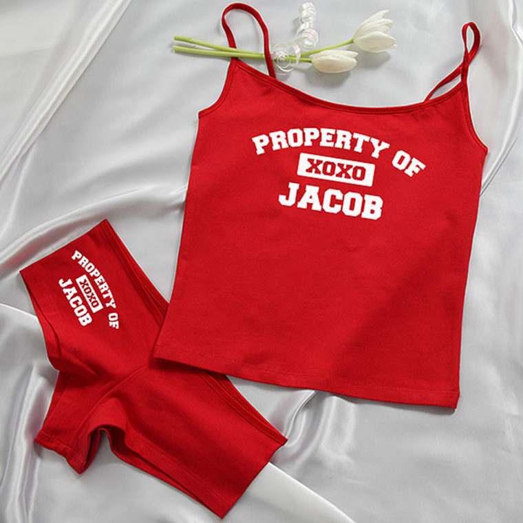 Personalized Cami Set