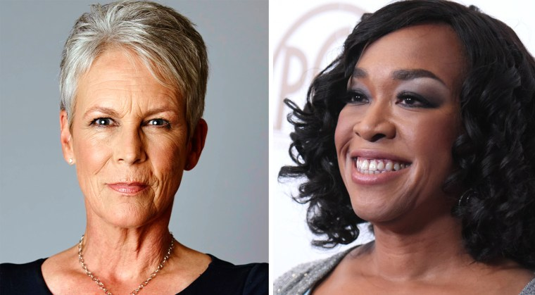 Jamie Lee Curtis and Shonda Rhimes