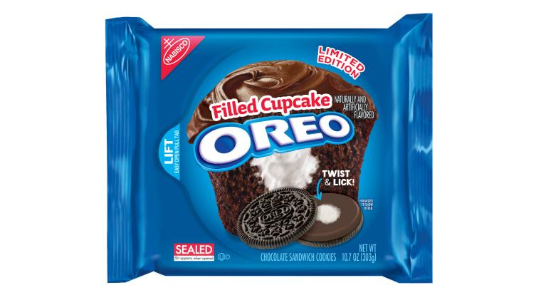 Oreo debuts Filled Cupcake Oreos