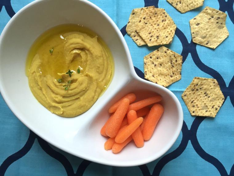 Curry Up Red Lentil Dip