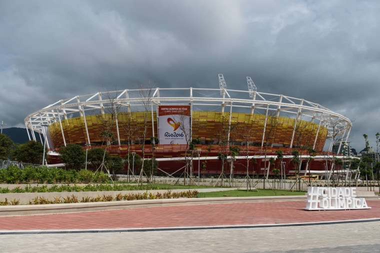 Image: OLY-2016-RIO-TENNIS-OLYMPIC PARK-TEST EVENT