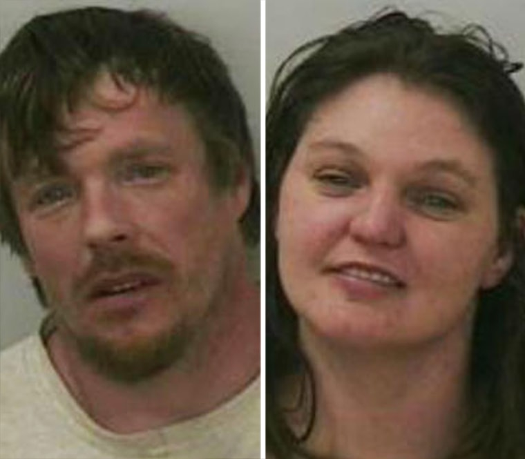 Jason Roth and Amanda Eggert are facing criminal charges after authorities say they found the two highly intoxicated in their pickup truck and the woman's 9-year-old daughter behind the wheel.