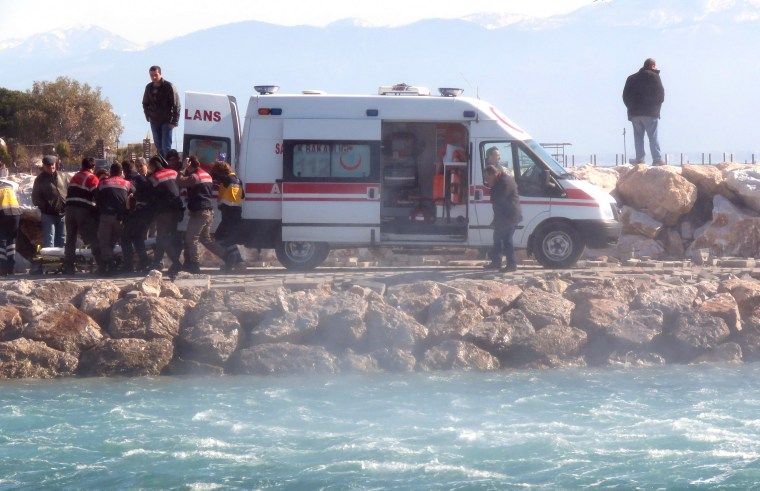 Image: TURKEY-GREECE-EUROPE-MIGRANTS-ACCIDENT