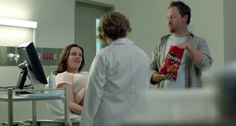 """According to TiVo, which pulled data from 30,000 households, the Doritos """"Sonogram"""" commercial was the most watched ad of the Super Bowl."""