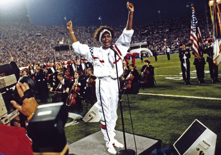 Whitney Houston's Brother Reflects on Her 1991 Super Bowl