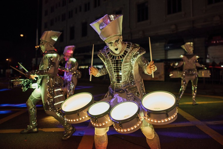 Image: Chinese New Year Celebrations In Hong Kong