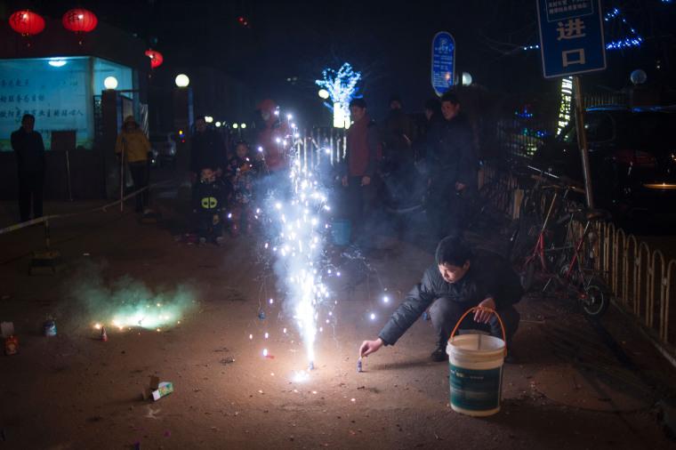 Image: China New Year Firecrackers