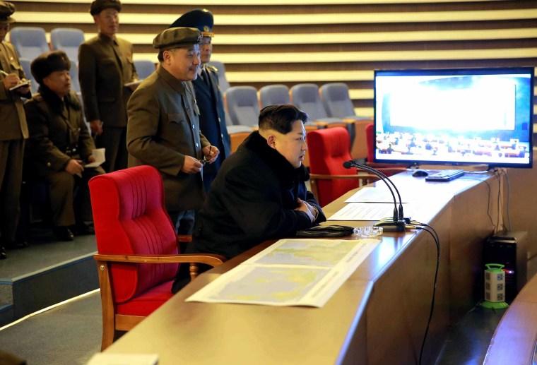 Image: North Korea launches long-range rocket