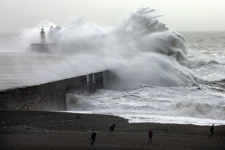Image: Storm Imogen Sweeps The South Of England