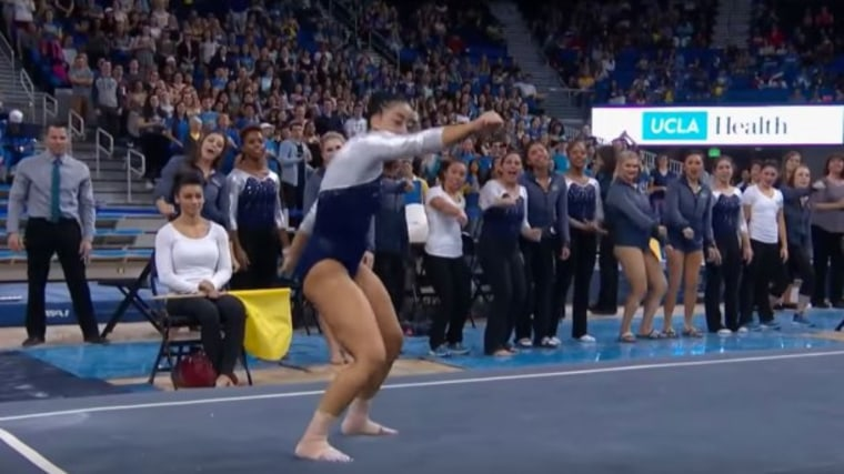 UCLA Gymnast Whips and Nae Naes in Her
