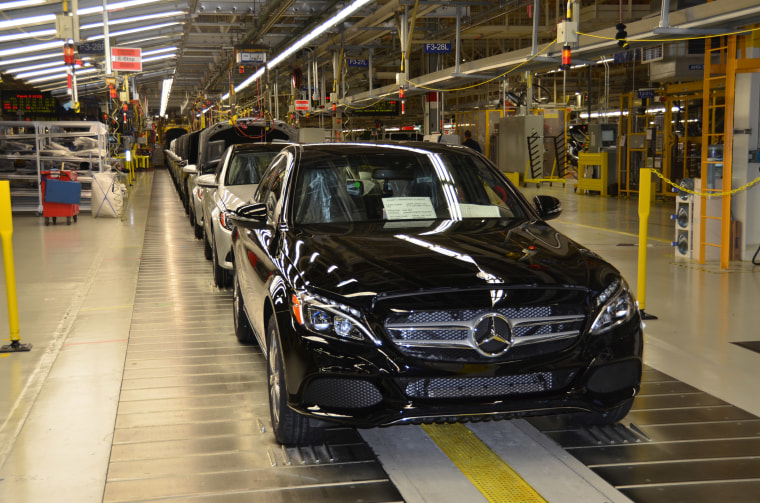 IMAGE: Mercedes-Benz production in Alabama