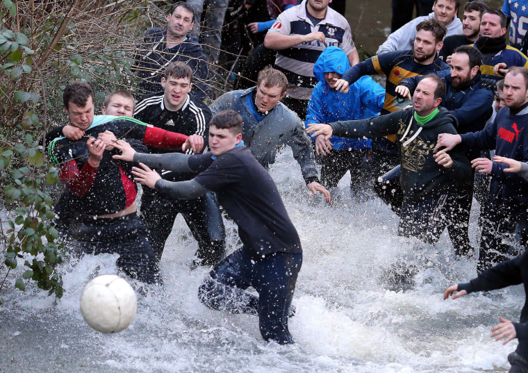 Image: Shrovetide Football Britain
