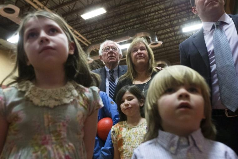 Image: Bernie Sanders, Jane Sanders