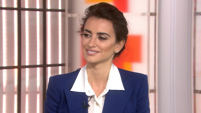 "Penelope Cruz talks about her role in ""Zoolander No. 2"" on TODAY."