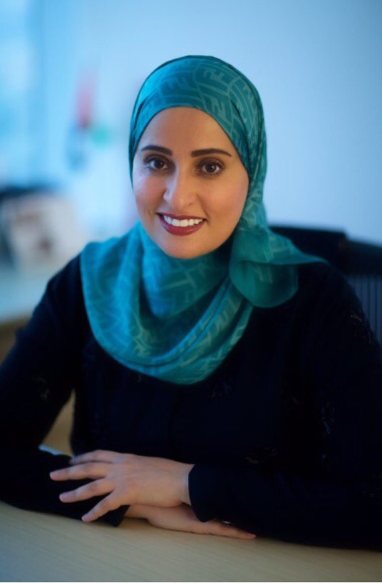 IMAGE: UAE Minister for Happiness Ohood Al Roumi
