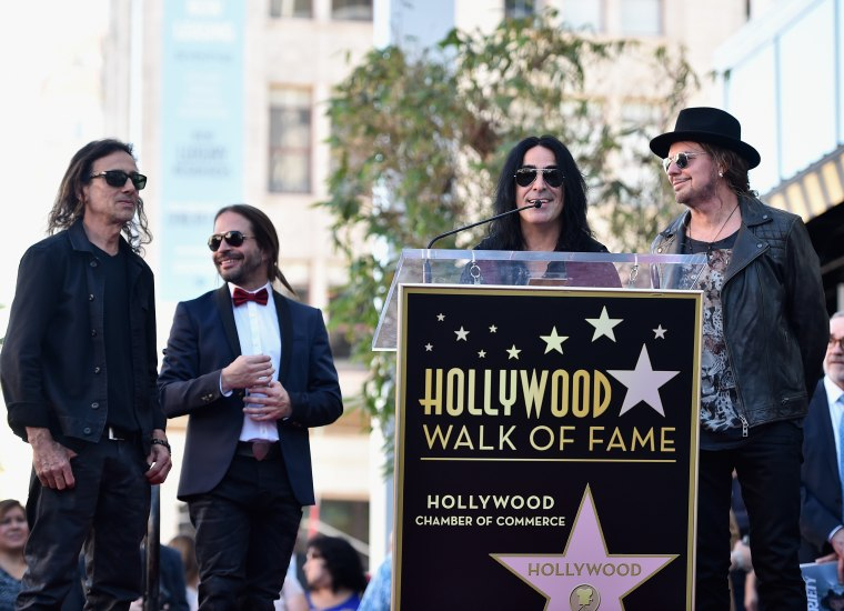 Maná honored with a star on the Hollywood Walk of Fame