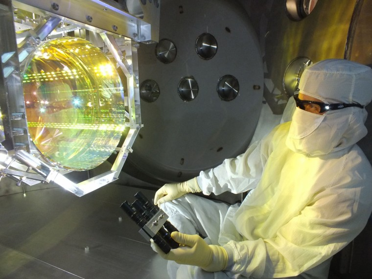 Image: LIGO Optics Wave Detector