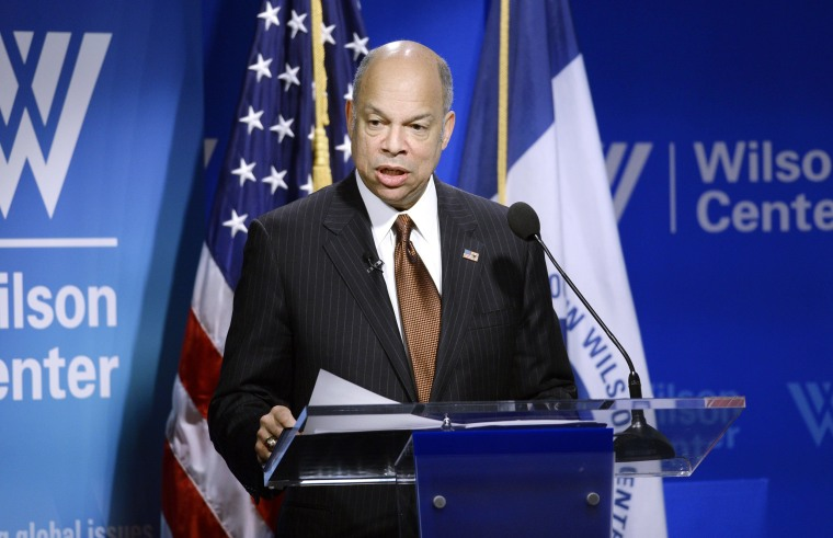 Image: Homeland Security Secretary Jeh Johnson Delivers His Annual State of Homeland Security Address