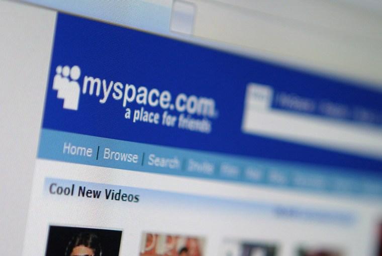 Image: MySpace