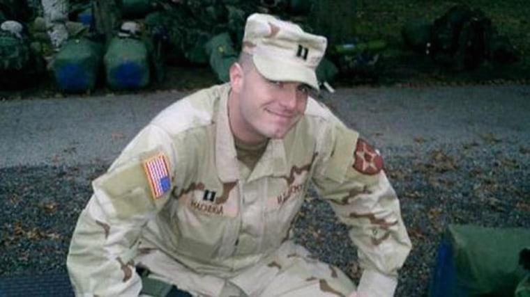 Image: Army veteran Stephen Machuga