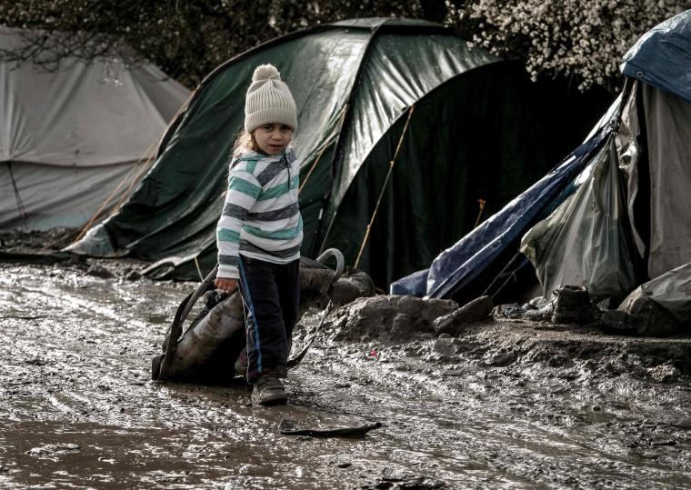 Image: The Jungle refugee camp