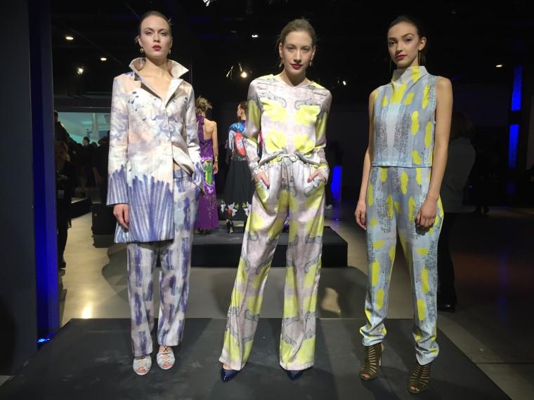 Models pose wearing Ossira.